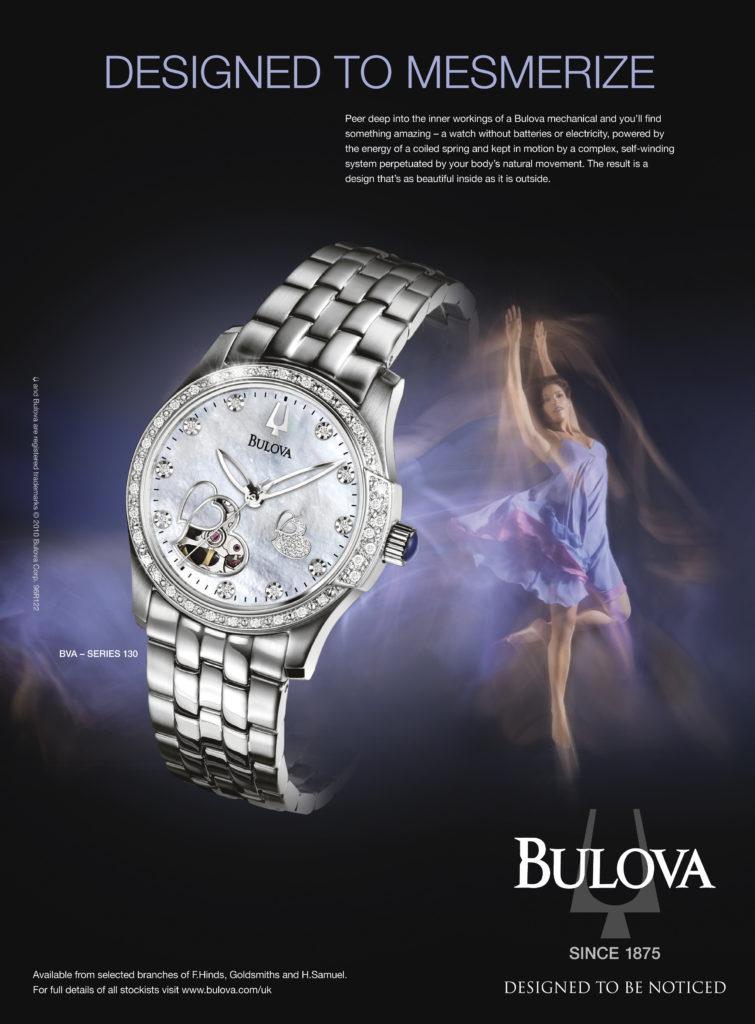 Bulova Watch shiny