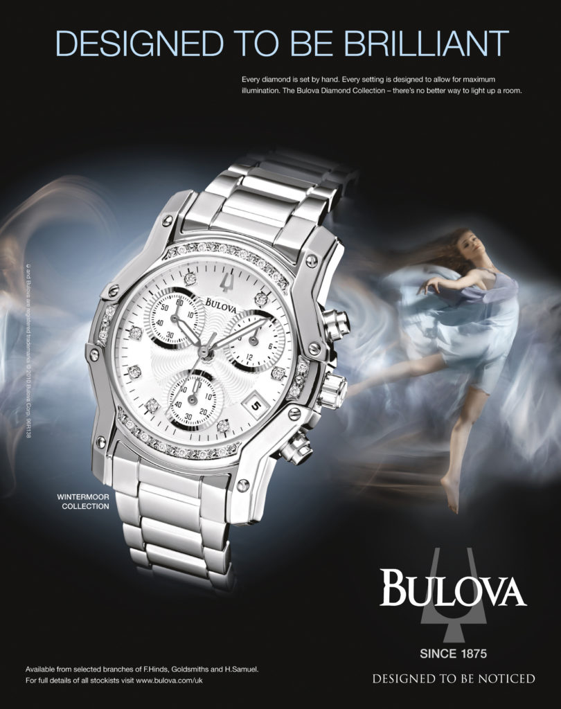Bulova designed to be brilliant