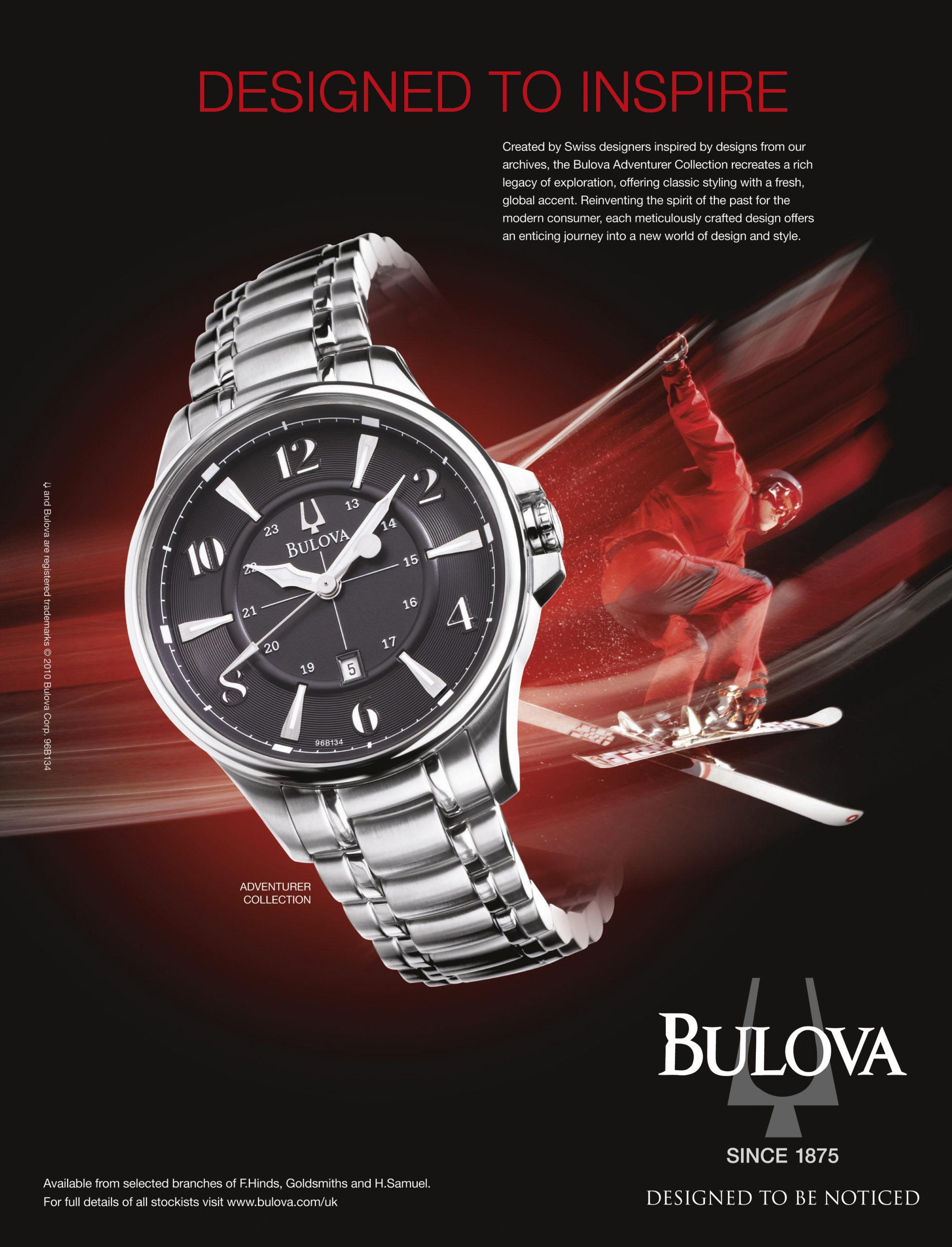 Bulova Designed to inspire