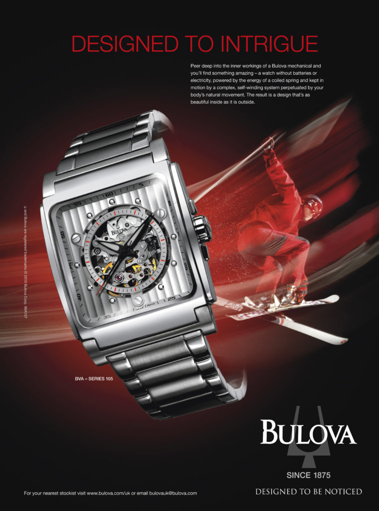 Bulova designed to intrigue
