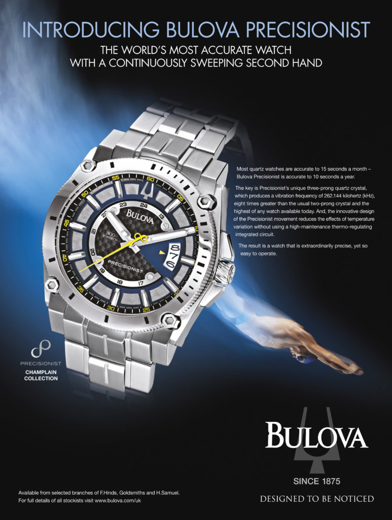 Bulove watches retouched by Bill Greenwood