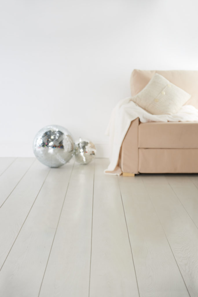floor boards and sofa