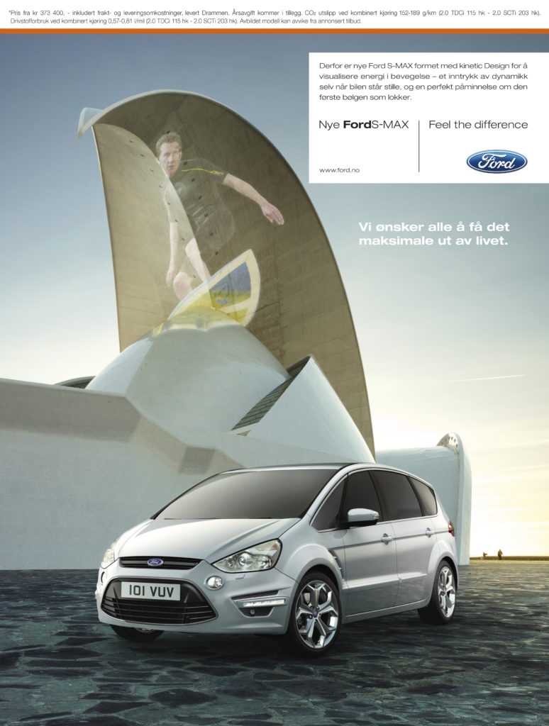 Ford advertising campaign