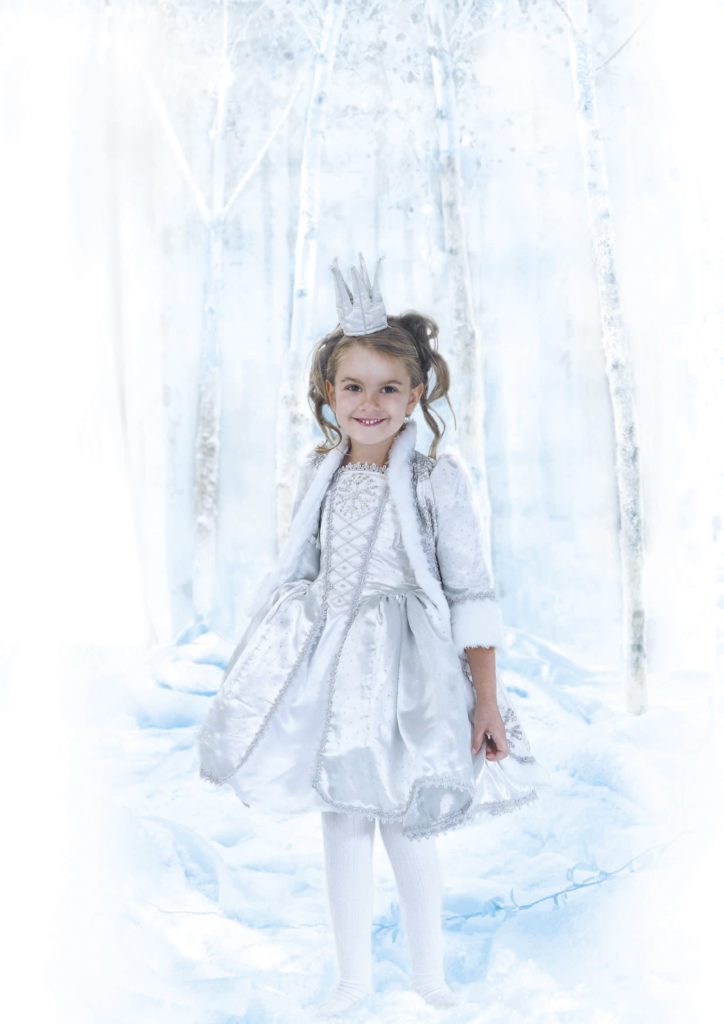 snow princess model retouching